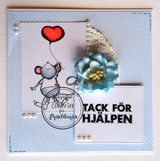 Pysseldags: Tack för hjälpen! A Card by Zildara