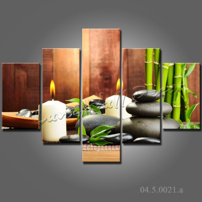 95 best zen deco feng shui images on pinterest for Decoration salon peinture