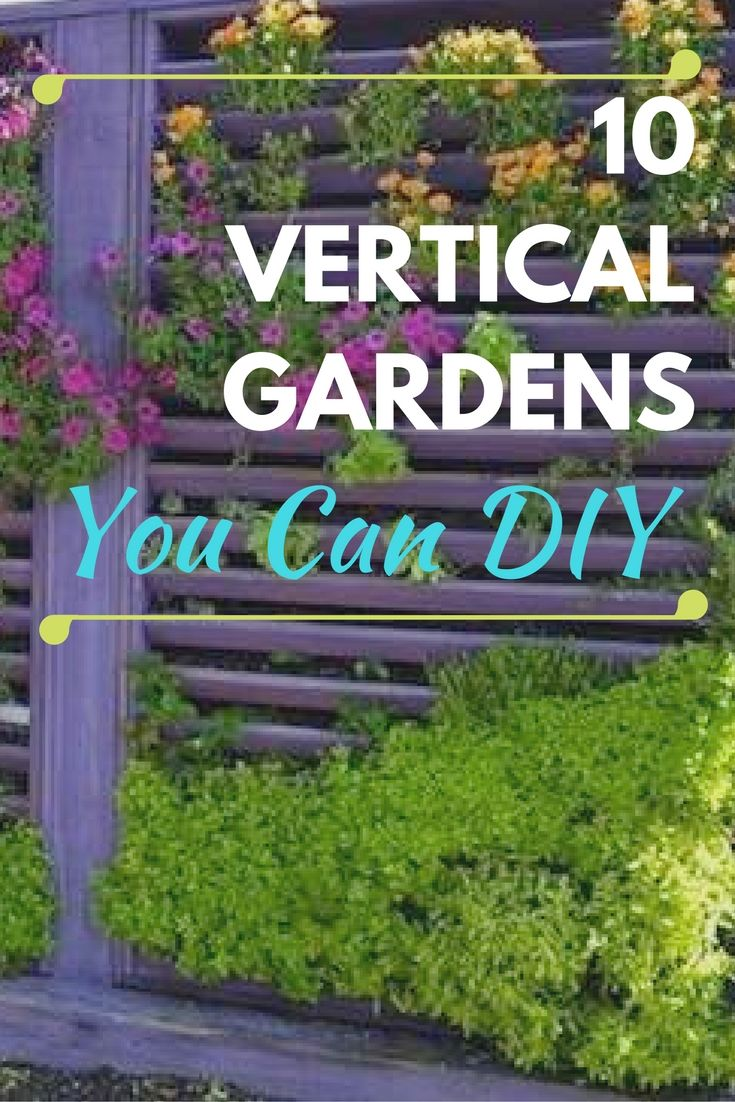 Growing Up 10 Inventive Diy Vertical Gardens Apartment