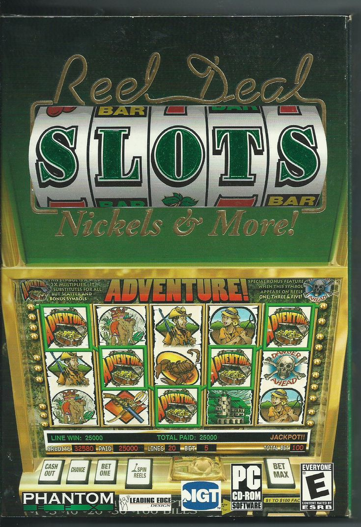 Reel Deal Slots Nickels & More (PC, 2004) United states