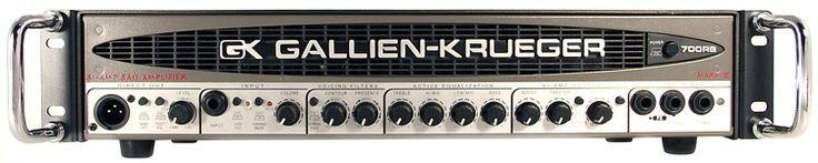 480-watt low/50-watt high Bass Amp Head with G.I.V.E Valve Effect