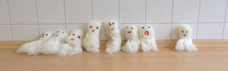 Urselifelts — Felting at school  More ghosts and owls  Autumn...