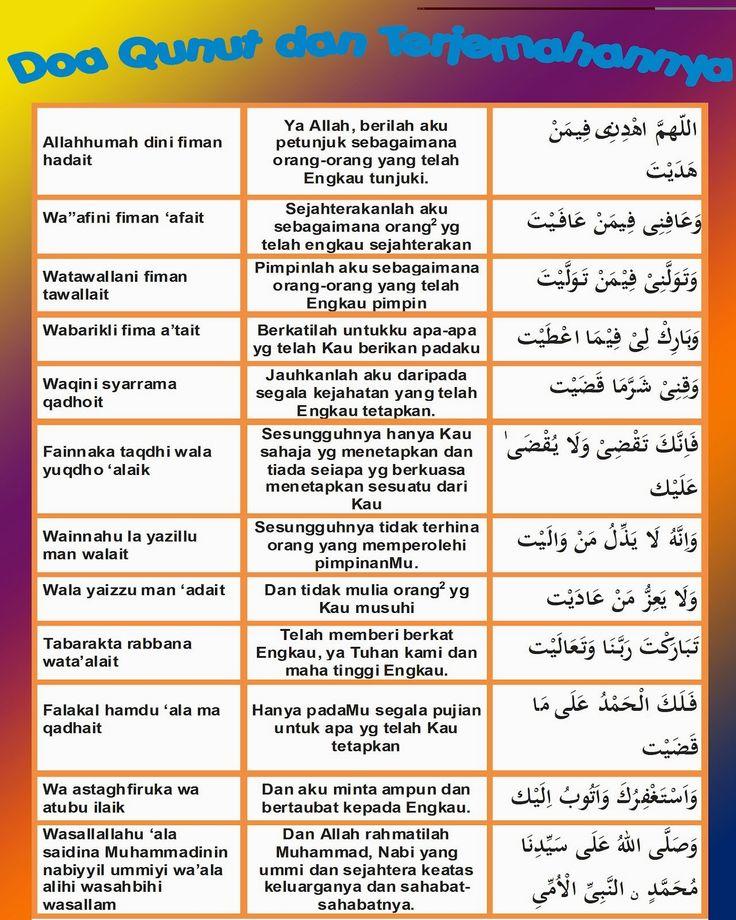 Tentang Hikmah, Nazar dan Doa Qunut - Kulish Dhuha Muslimat 09.09.2014