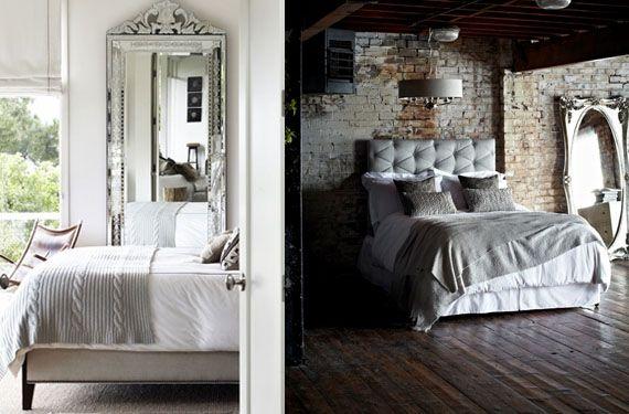 Espejos de pie para decorar la habitaci n habitaciones for Espejos para habitaciones