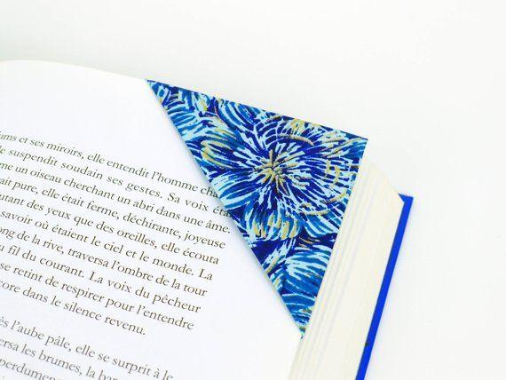 Marque page, marque page original, marque page fleur, origami