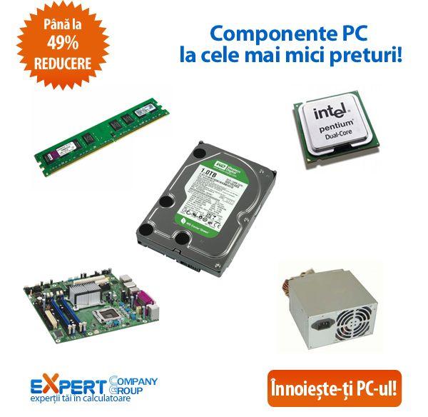 Avem vesti bune la inceput de saptamana! Componentele pentru PC-ul tau sunt acum mai ieftine! Vezi oferta completa de memorii, hard disk-uri, unitati optice si multe altele!