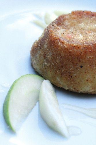 Tortini di patate, pere e pecorino