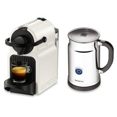 Nespresso Inissia Espresso Maker & Aeroccino Plus Milk Frother #nespresso #espresso #giftsforgrads