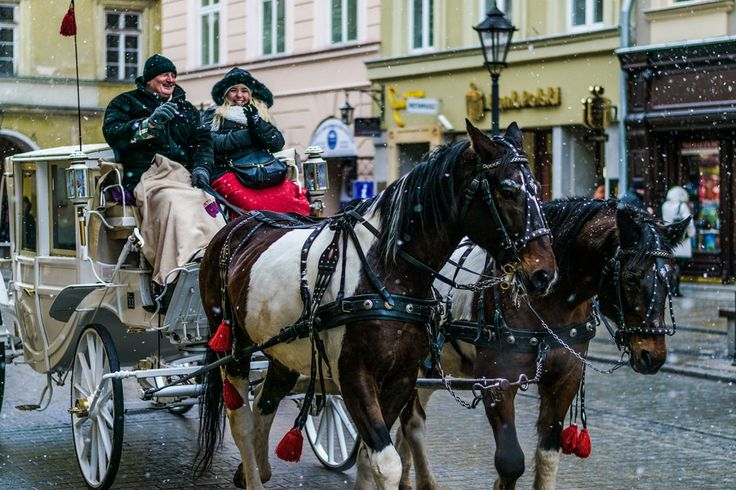 Kraków, ul. Grodzka, Winter www.fgawronski.com
