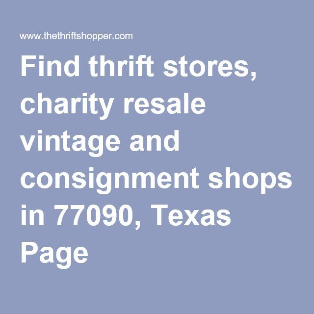best Tampa Thrift Stores of Note  on Pinterest  Thrift
