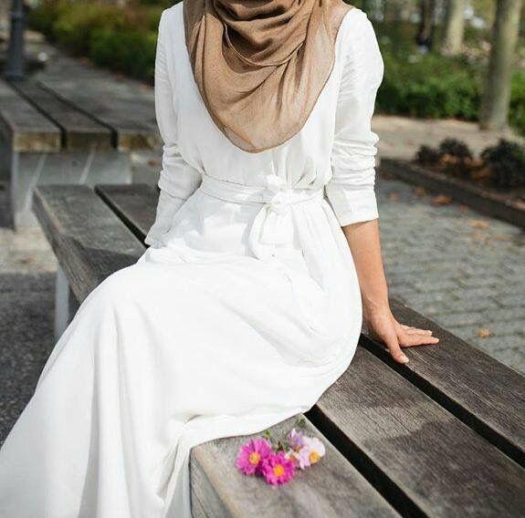White dress - check out: Esma <3