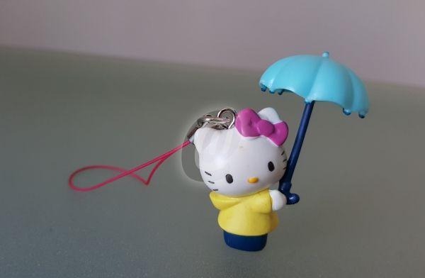 Figurina Hello Kitty cu umbrela, 4,5 cm este fabricat de Sanrio costă 12 lei . Figurina Hello Kitty cu umbrela, 4,5 cm se afla pe stoc si se plateste la primirea coletului. Mai multe produse din categoria Jucarii de colectie, Antichitati - Artizanat - Colectionabile