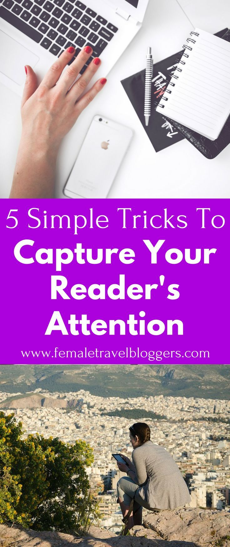 Keeping your readers interested as a blogger can be very difficult. Check out these writing tips for bloggers to help catch your reader's attention and keep it. When you're done reading these tips, save it to your blogging board so you can find it later.