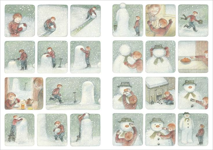 Raymond Briggs The Snowman