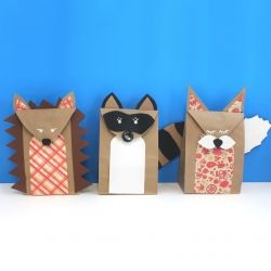 Wm Extra Small Brown Paper Bags 3 X 2 6 Party Favors