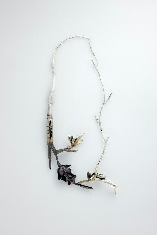 Sun Young Kim. jewellery designer at Collect Saachi Gallery 2014