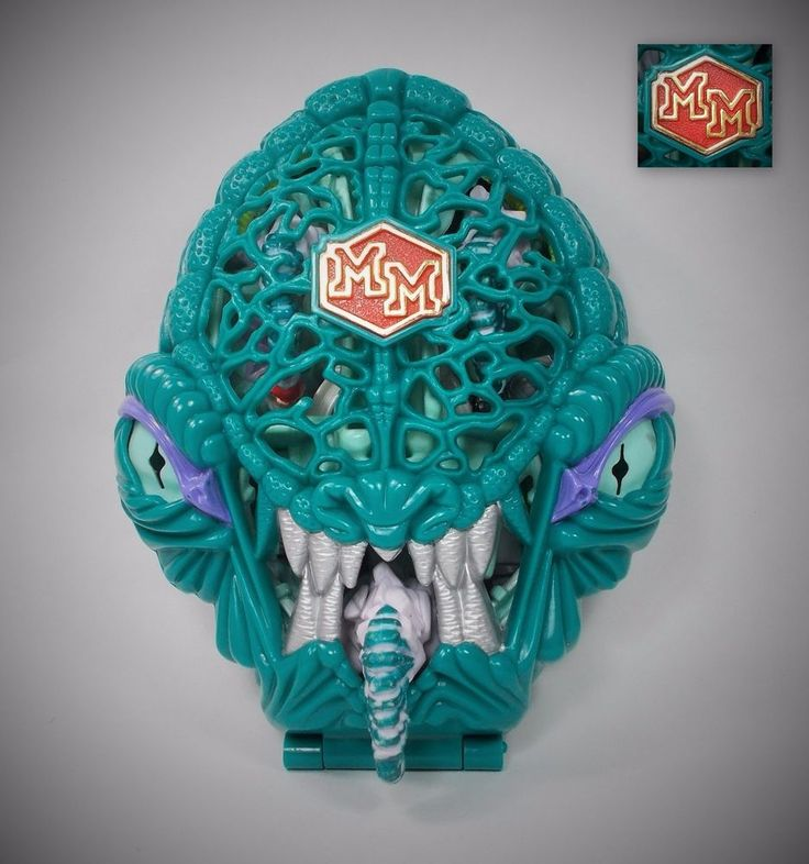Mighty Max - Liquidates the Ice Alien - Doom Zones - Bluebird Toys 1992 24