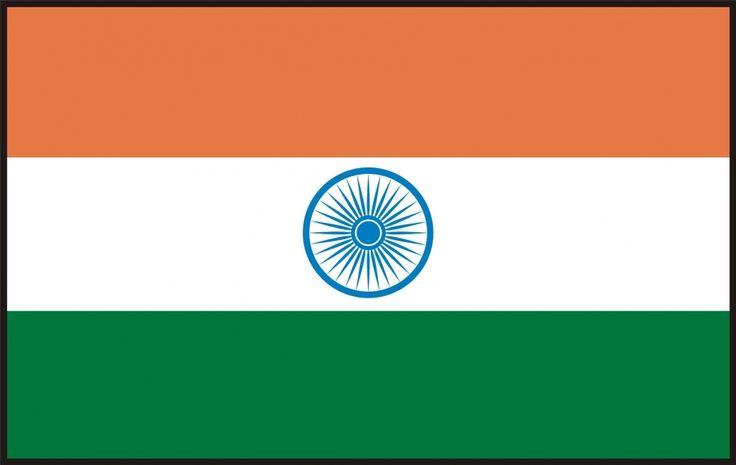 Indien flag 90 x 150 cm