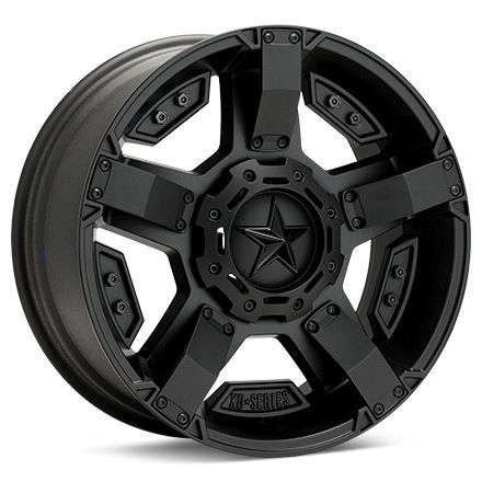 KMC XD Series XD811 Rockstar II (Black Painted) - $252