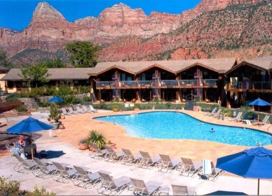 Desert Pearl Inn - Springdale, Ut at Zion National Park. We stayed there when it first opened and have been back every time we can because it feels like someone's really cool home that's totally accessible.
