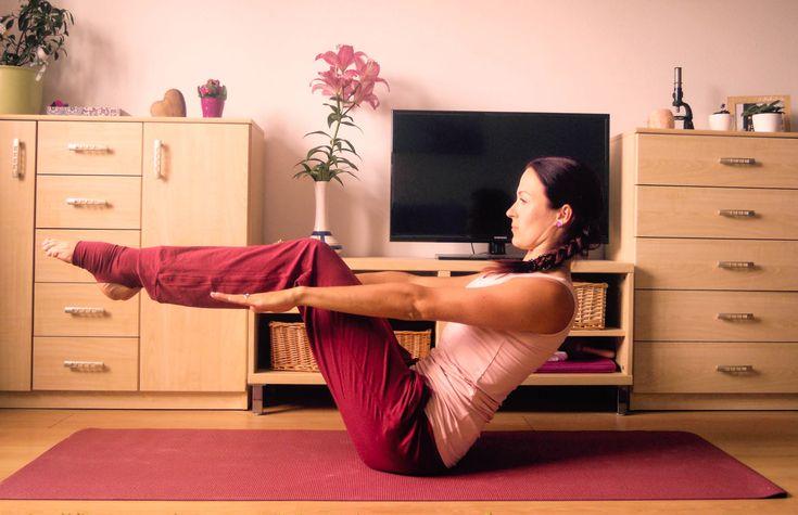 Základní pozice jógy na doma