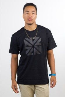 NZZN BLACK ON BLACK MENS TSHIRT