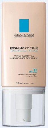 Mit ROSALIAC CC CREME hat La Roche-Posay ein multifunktionales Produkt entwickelt, das jede Art von Rötungen wie ein Make-up abdeckt, wie eine Spezialpflege korrigiert, und dank LSF 30 optimal vor weiteren Triggerfaktoren wie der UV-Strahlung schützt. ROSALIAC CC CREME ist ab APRIL 2014 exklusiv in Apotheken erhältlich.