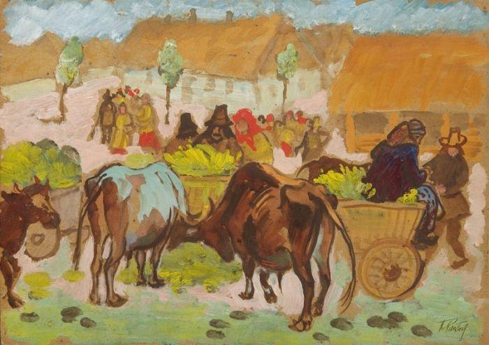 Fryderyk Pautsch - Targ na Kresach