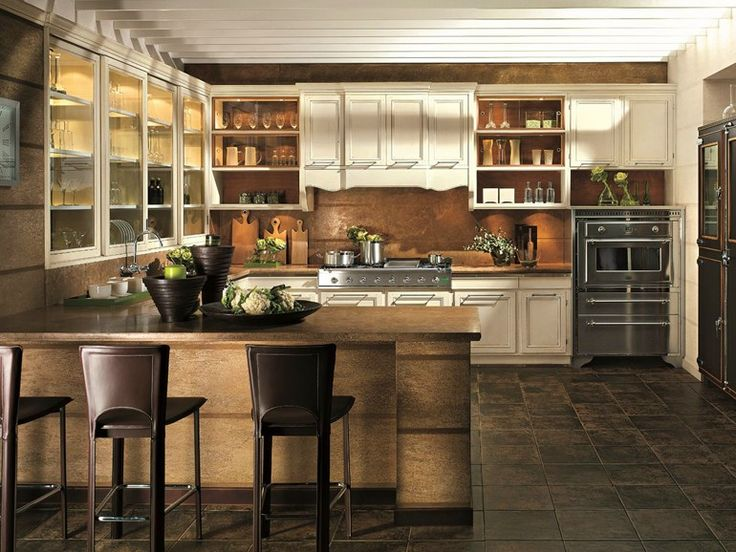 1000 Ideas About Cherry Wood Kitchens On Pinterest Cherry Cabinets, Kitchen Photos And Dark photo - 7