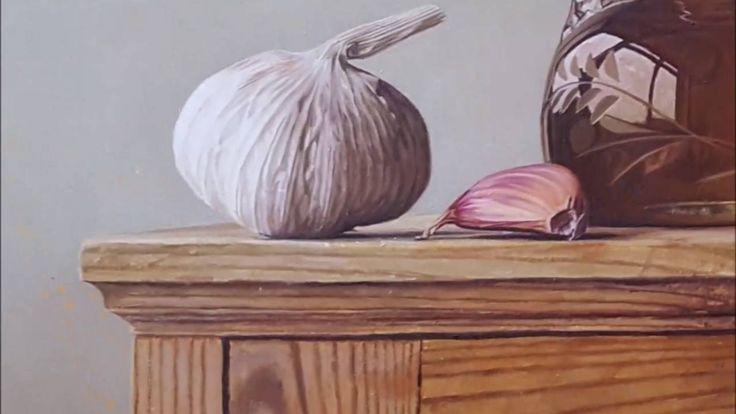 Stewart Lees paints 'Lemon and Thyme Vinaigrette'