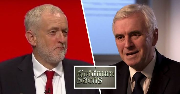 John McDonnell reveals that Goldman Sachs has started GROVELLING to him in preparation for a Corbyn government
