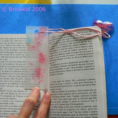 Et sur un livre, c'est joli comme ça !  Bon amusement !