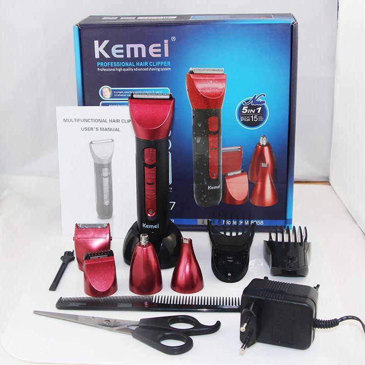 5in1 Men Trimmer Razor Hair Clipper Trimer Electric Shaver Beard Trimmer Nose  Styling Tool For Men Children Cutting Machine