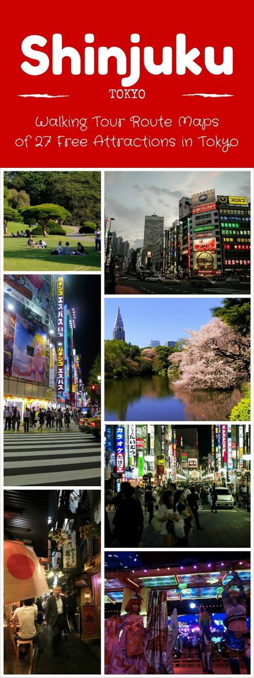 Explore Tokyo on a budget! Walking tour routes and maps for 27 free attractions…