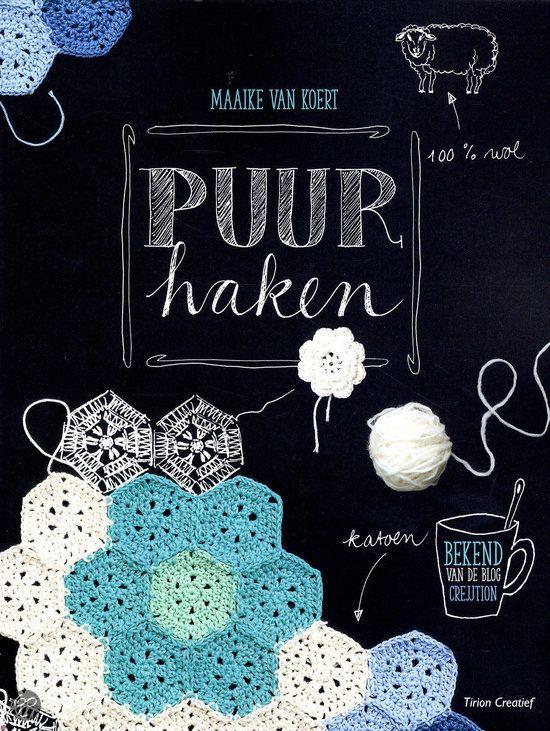"""Crochet book / Haakboek """"Puur Haken"""""""