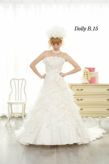 ウェディングドレス DollyB 15|ウェディングドレスのレンタルなら大阪ピノエローザへ