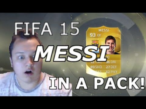 Fifa 15: MESSI IN A PACK!!!