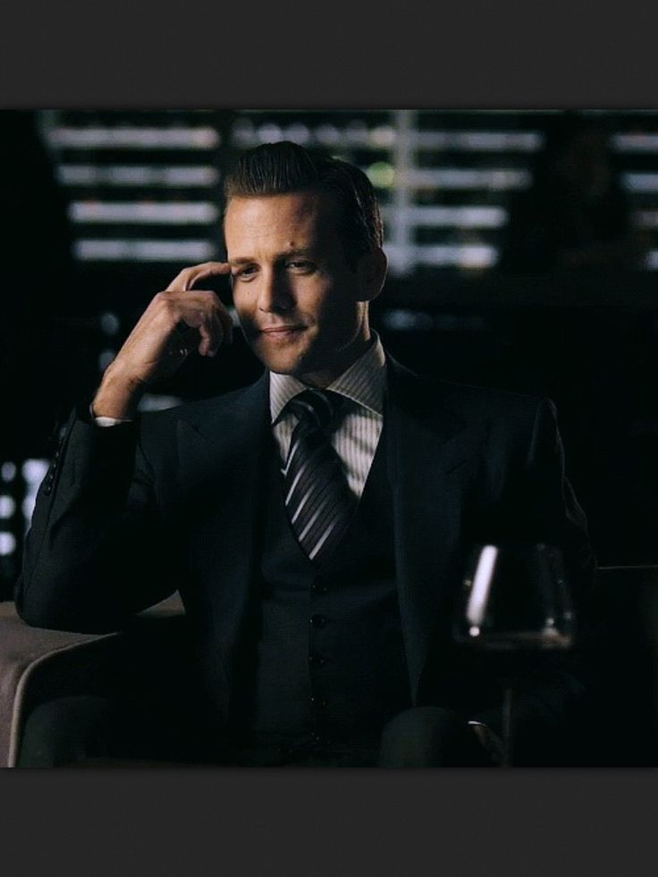 Harvey Spector from Suits. Yuuuhmmmmy!!