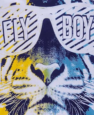 Fly Boy tiger graphics.