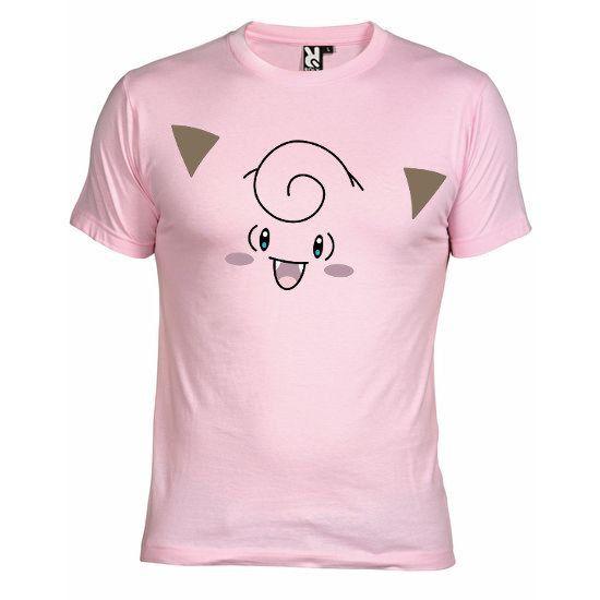 """T-shirt Rose pour Enfant et Homme (différentes tailles dispo), logo """"Mélofée"""" imprimé au format A4 (impression résistante et durable)"""