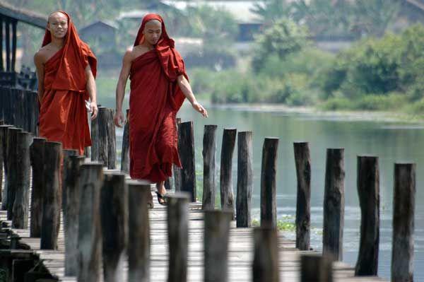 pont Amarapura - Birmanie