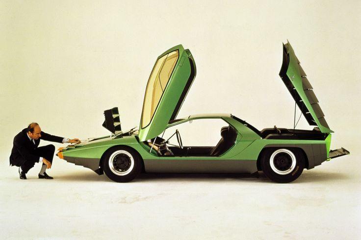 #AlfaRomeo concept car #Carabo