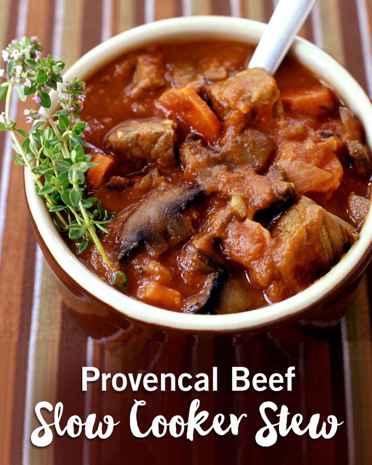 There's nothing like a warm bowl of stew on a cold day! Break out your slow-cookers and try this hearty beef stew recipe.