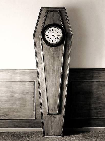 Coffin clock my ultimate dream home pinterest