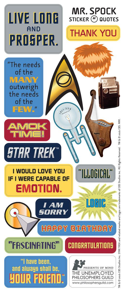 Best Star Trek Printables Images On Pinterest Star Trek - Car window decals near mestar trek family car decals thinkgeek