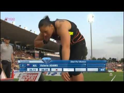 Women Shotput Lausanne Diamond League 2012
