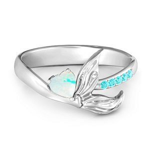 Mystical Mermaid Ring #jewlr