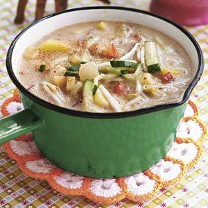 Recept - Surinaamse pindasoep - Allerhande