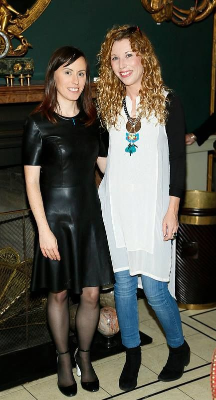 With course director & designer Sinead Doyle at the National Tailoring Academy Graduate Fashion Show August 2014