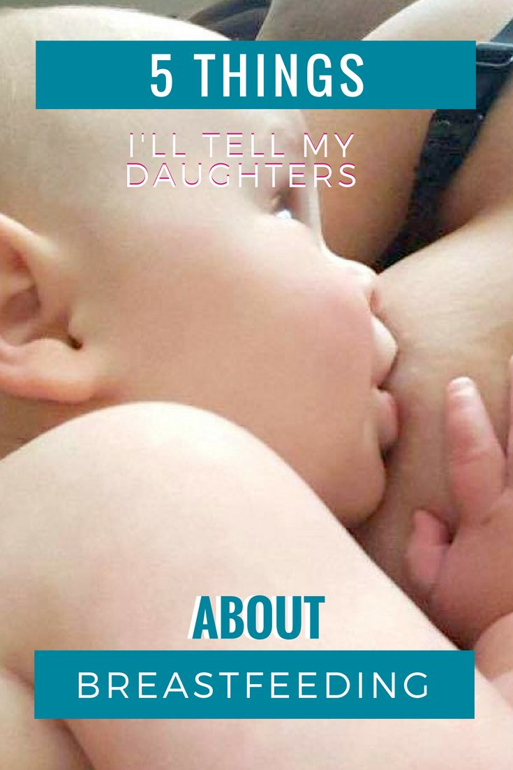 5 things to help you be a successful breastfeeding mom.